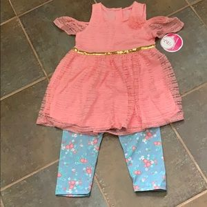 Shirt and capri outfit - size 6